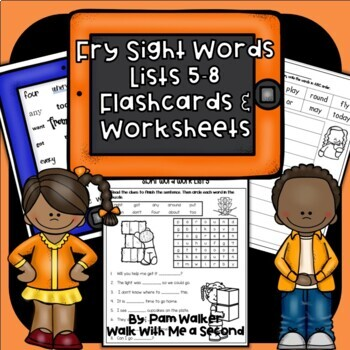 "Fry Sight Words on the ""iPad"" Set 2"