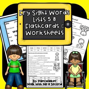 "Fry Sight Words on the ""iPad"" Set 3"