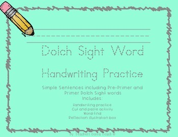 Dolch Sight word practice