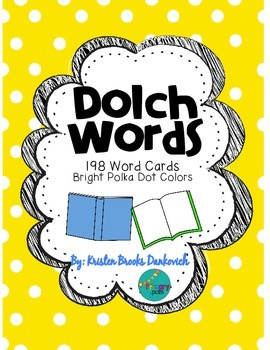 Dolch Word Cards
