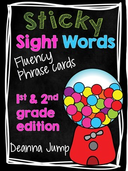 Dolch Word Fluency Phrases first and second grade edition
