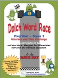 Dolch Word Fluency Race
