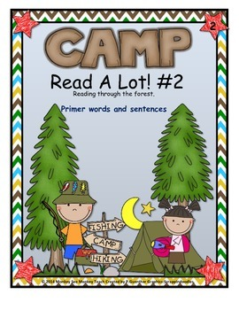 Dolch Words Camp Read A Lot Set Two