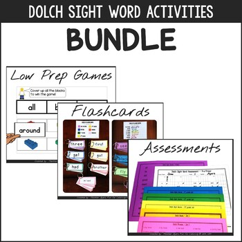 Dolch Fluency Games & Assessments