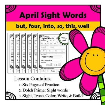 Sight Words Practice
