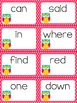 Dolch Words Pre-Primer Sight Words Slap-It Card Game/Center