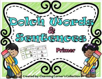 Dolch Words & Sentences ~ Primer Set