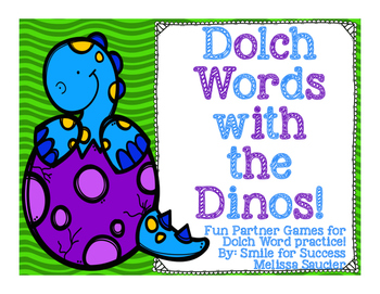 DOLCH WORDS with the Dinos: )