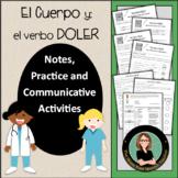 Doler / Cuerpo, Grammar Notes with Built in Practice / Com