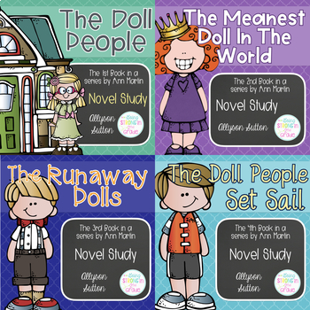 Doll People Series Novel Studies - Books 1-4 of The Doll P