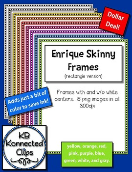 Dollar Deal! Enrique Frames (rectangle version)