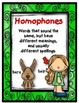 Dollar Deal! Homophones 40 Task Cards Set 2 {2nd and 3rd}
