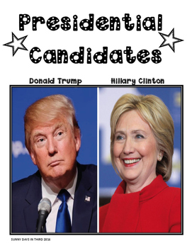 Dollar Deal: Presidential Election 2016 Writing Templates