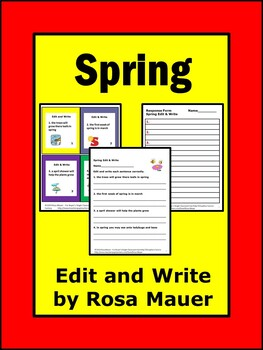 Dollar Deal Spring Theme Edit and Write