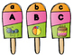 Summer Treats Letter and Sound Matching