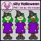 SILLY HALLOWEEN clipart