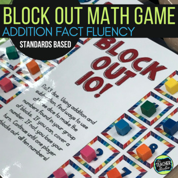 "Dollar Deals:  ""Block Out"": A Structuring Fact Fluency Game"