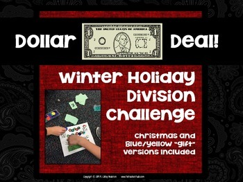 "Dollar Deals:  ""Winter Holiday Division Challenge"": A Game"
