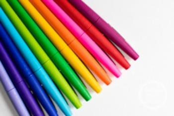 Dollar Stock Photo 66 Rainbow Pens