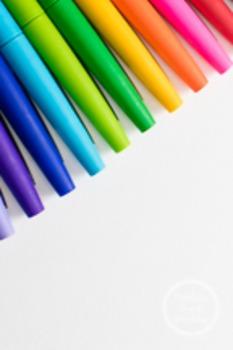 Dollar Stock Photo 67 Rainbow Pens Tall