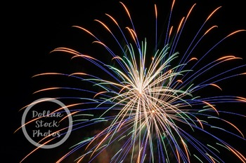Dollar Stock Photo Freebie 11 Fireworks