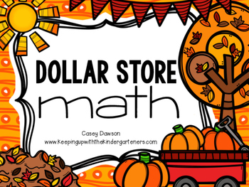Dollar Store Math: Pumpkin Ten Frames