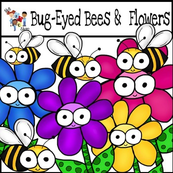 $$DollarDeals$$ Bug-Eyed Cuties: Bees and Flowers