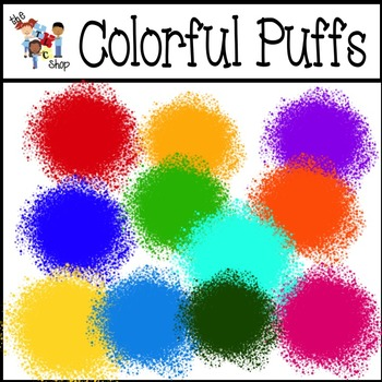FREE!!! Colorful Puffs