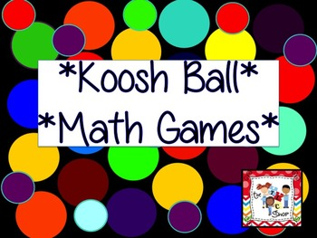 $$DollarDeals$$ Koosh Ball Math Games for SMART BOARD
