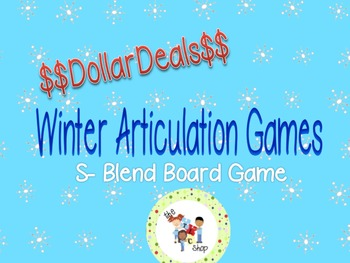 $$DollarDeals$$ Winter Articulation Games: S- Blends