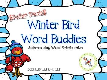 $$DollarDeals$$ Winter Bird Word Buddies