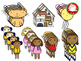 Dolls Clipart (Personal & Commercial Use)