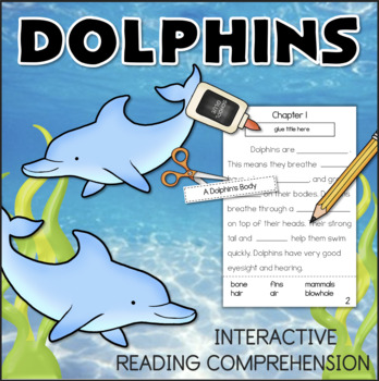 All About DOLPHINS Interactive Reading