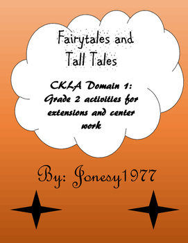 Domain 1: Fairytales and Tall Tales