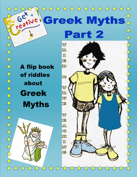 Domain - Greek Myths: A Flip Book of Riddles Part 2