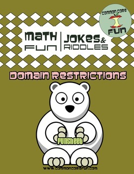 Domain Restrictions Joke Worksheet