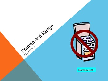 Domain and Range Basics