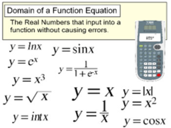 Domain of the Square Root & Division Functions - 4 Assignm