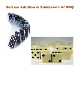 Domino Addding and Subtracting