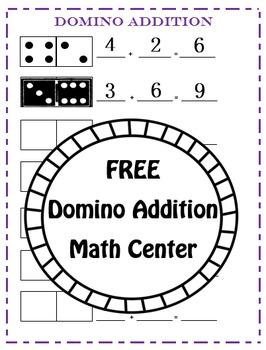 Domino Addition - Math Center