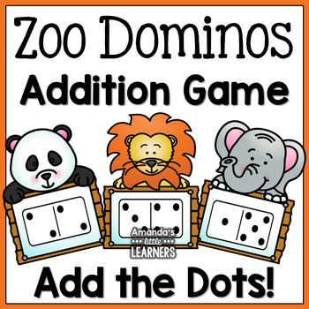 Addition Game - Zoo Animals