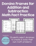 Domino Addition and Subtraction Fact Practice