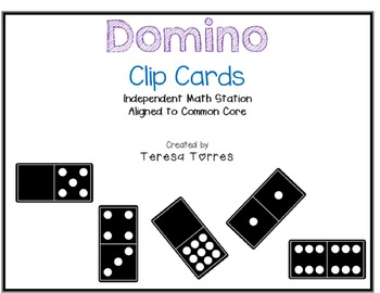 Domino Clip Cards