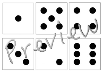Domino/ Dice Faces 1-6