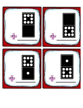 Domino Eights Fact Fluency