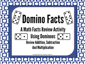 Domino Facts - A Review Activity for Basic Facts
