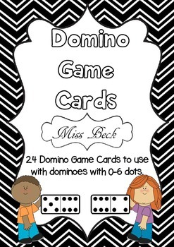 Domino Game Cards