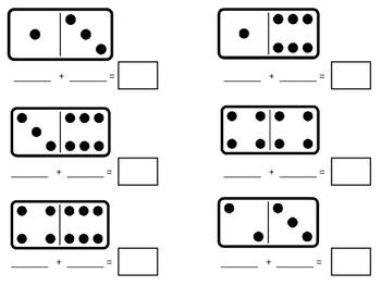 Domino Math Template