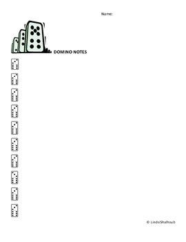 Domino Notes Organizer