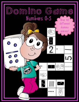 Domino Number Game (Numbers 0-5)